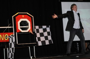 North East stage magician