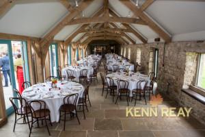 wedding magician healey barn